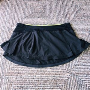 Lululemon  Athletica black skirt Size 10